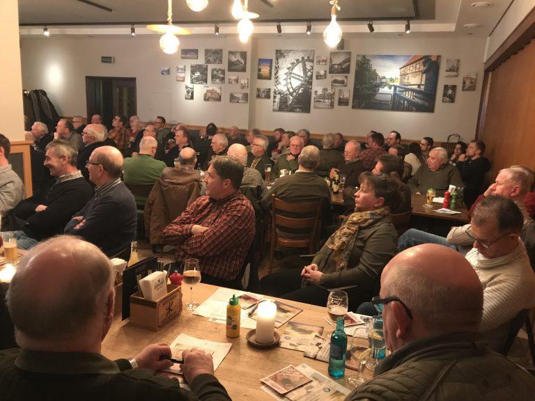 Volles Haus bei der Mitgliederversammlung des Hegerings Lüdinghausen/Seppenrade